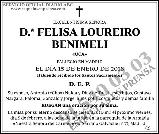 Felisa Loureiro Benimeli